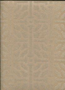 Savile Row SketchTwenty3  Wallpaper Fretwork Beaded Bronze SR00539 By Tim Wilman For Blendworth